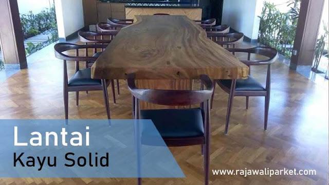 lantai kayu Jati terbaik untuk restoran