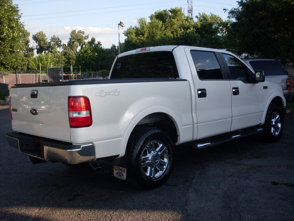 Ride Auto 2007 Ford F150 Pearl White