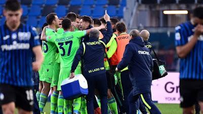 ملخص واهداف مباراة لاتسيو واتالانتا (3-1) الدوري الايطالي