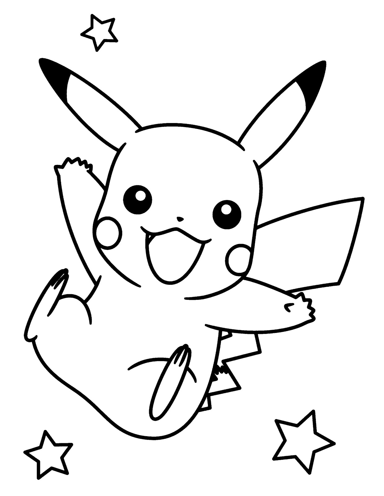 coloring pages pokemon pikachu kids activities for boys at home free printable