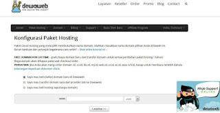 Belajar Hosting Dan Domain lokal berkualitas