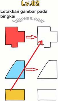 Jawaban Brain out Letakkan Gambar Pada Bingkai Level 82