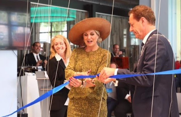 Queen Maxima of The Netherlands attended the opening of SingularityU The Netherlands, a Dutch branch of the US benefit corporation