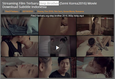 Film Semi Korea Step Brother 2016