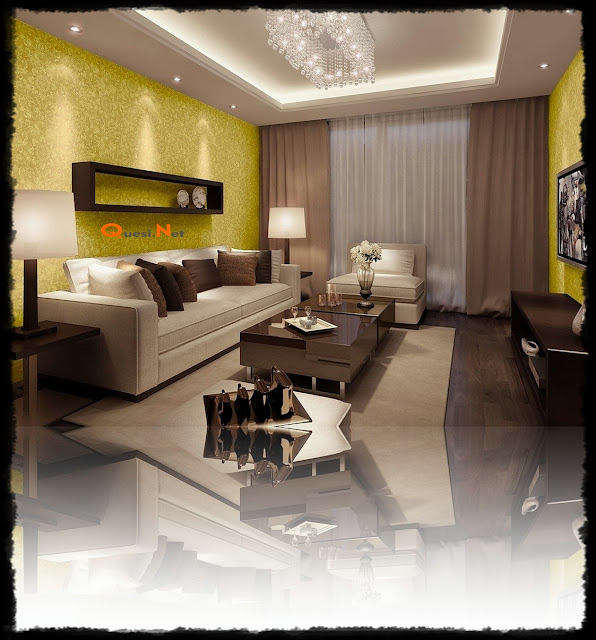 Stylish Wall Decoration for Modern Living Room