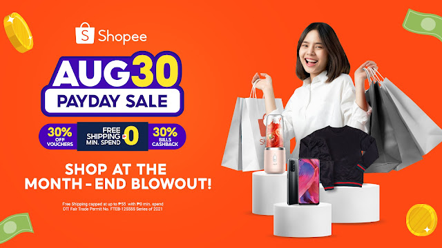 Get Ready to Shop All Out at Shopee's Aug 30 Payday Sale