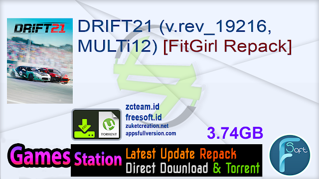 DRIFT21 (v.rev_19216, MULTi12) [FitGirl Repack]