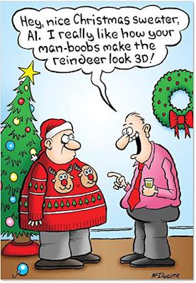 Reindeer Humorous Christmas