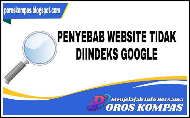 Penyebab Website Tidak Diindeks Google