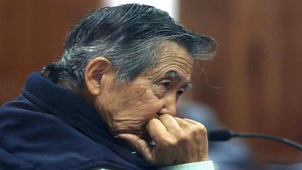 Justicia peruana rechaza recurso para liberación de Fujimori