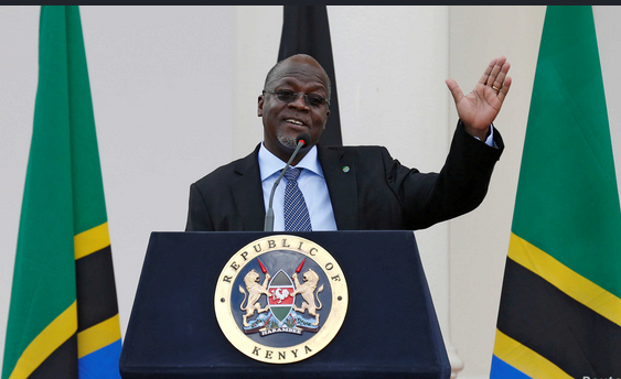 BREAKING: Tanzania president says Coronavirus is Over, No need for Nose Masks and Social Distancing.