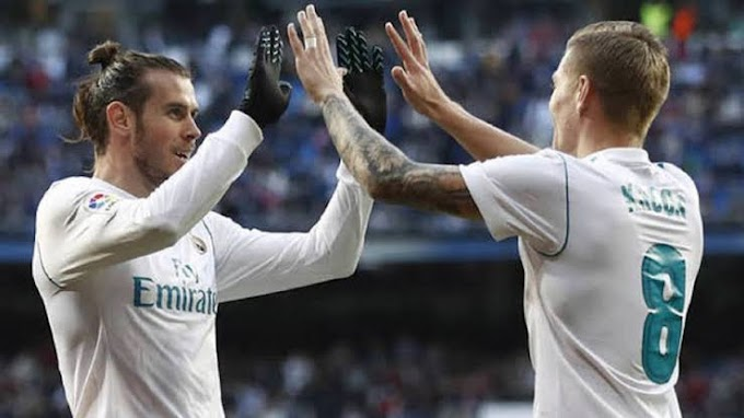 Toni Kroos not happy with Gareth Bale's situation at Real Madrid