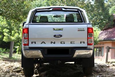 Eksterior Belakang Ford Ranger T6 Prefacelift