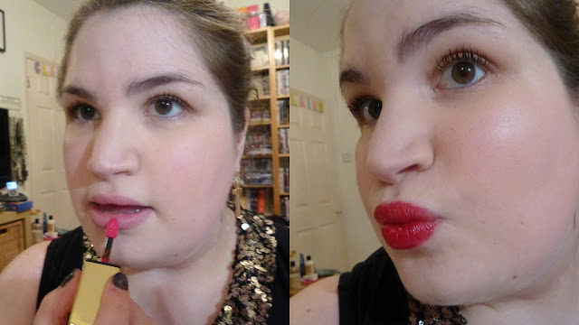 YSL Rouge Pur Couture Glossy Stain in 110