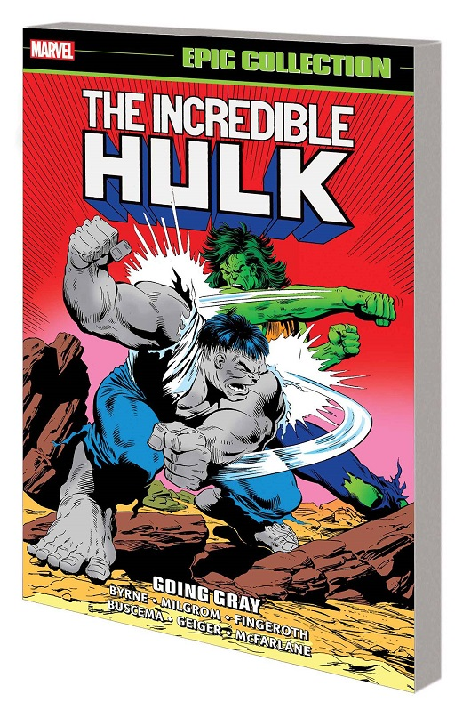 Cover of Incredible Hulk Epic Collection: Going Gray