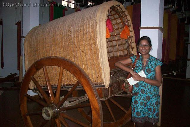 Tamilnadu Bullock Cart Dakshinachitra museum