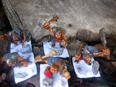 Ogros mercenarios de Golgfag