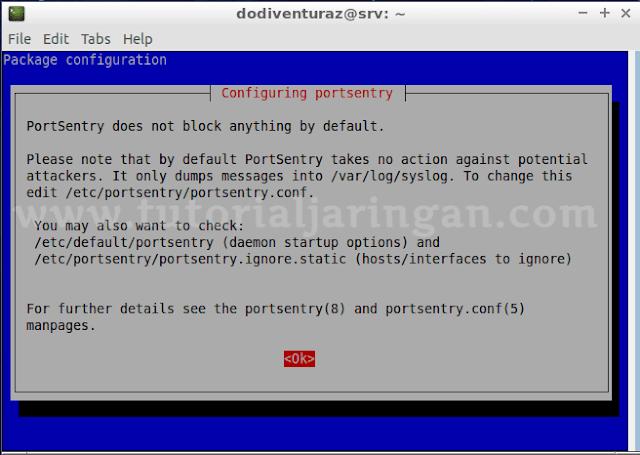 Cara Deteksi dan Blok Serangan Port Scanning di Linux Dengan Portsentry