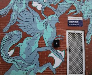 Street Art in Wagga Wagga by CreatureCreature