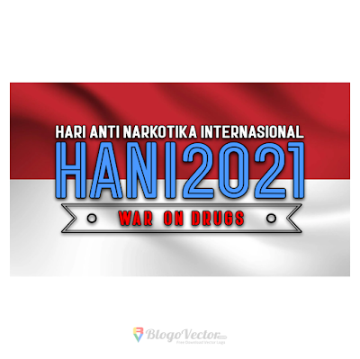 Hari Anti Narkotika Nasional (HANI) 2021 Logo Vector