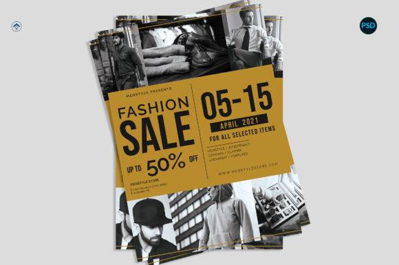 Fashion Sale Flyer V1[Photoshop][6090688]