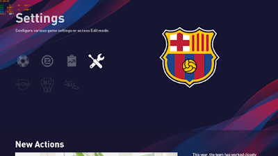 eFootball PES 2020 Team Logos Menu by Alexbeckhs