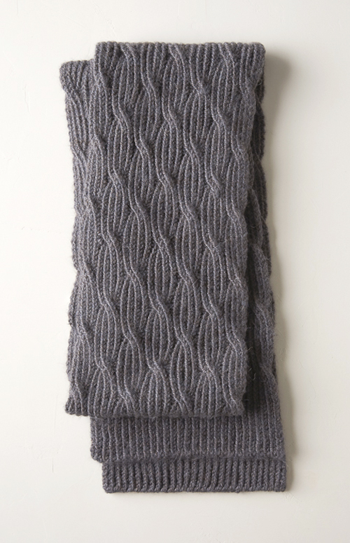 Reversible Rivulet Scarf - Free Knitting Pattern