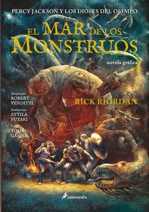 Percy Jackson y los dioses del Olimpo Mar de los monstruos