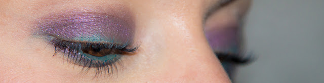 maquillage - prune - vert - boho