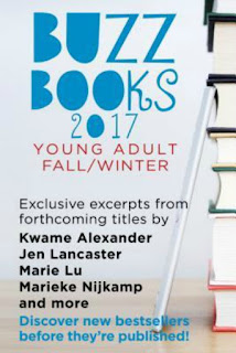 Buzz Books 2017 YA Fall/Winter sampler