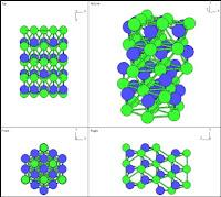 struktur kristal moissanite