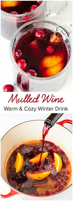 Mulled Wine – Perfect Holiday Party Drink