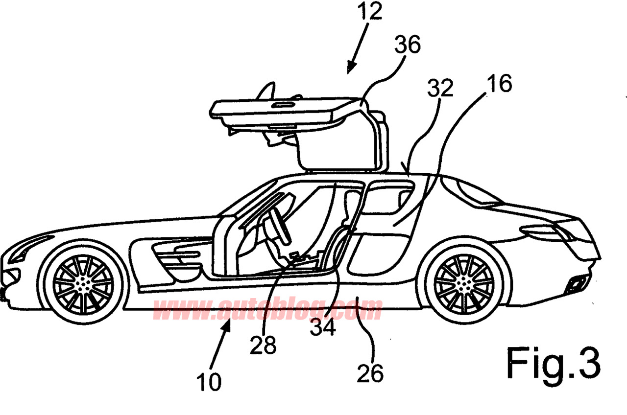 Auto Opiniao Mercedes Benz Sls De 4 Portas