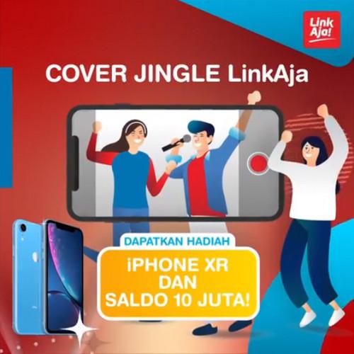 Kontes Cover Jingle LinkAja Berhadiah iPhone XR & Saldo 10 Juta