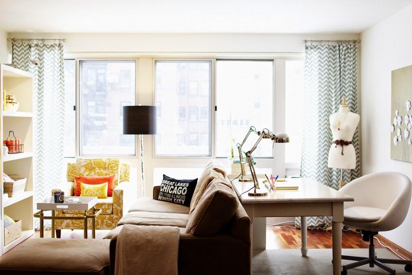 Living Room Table Lamps Decor Ideas For Small Living Room: Imagem: Oppa