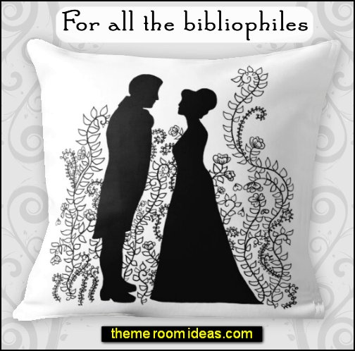 Pride and Prejudice bedroom decor  Pride and Prejudice Throw Pillow Pride and Prejudice bedding