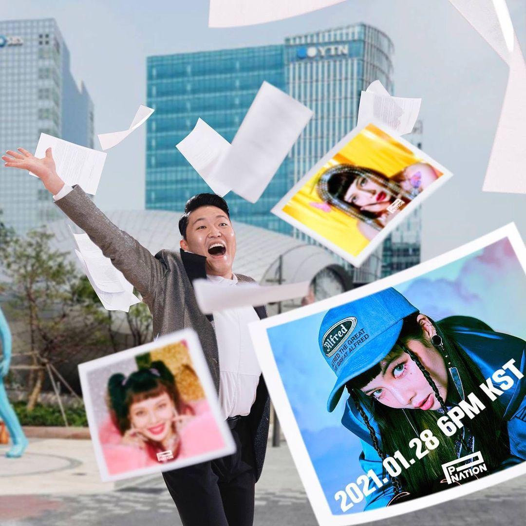 comeback hyuna pnation