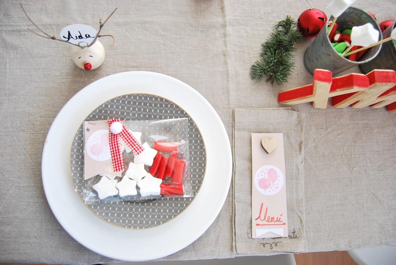 Mesa para niños en Navidad - Handbox Craft Lovers | Comunidad DIY ...