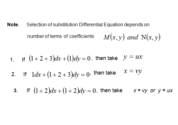 Method for solving homogenous differential equation,sharma sir ,9718041826,sharma coaching centre,