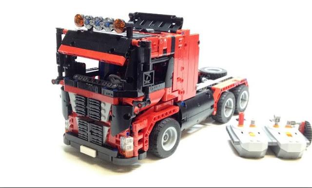 kabin lego truk gandeng