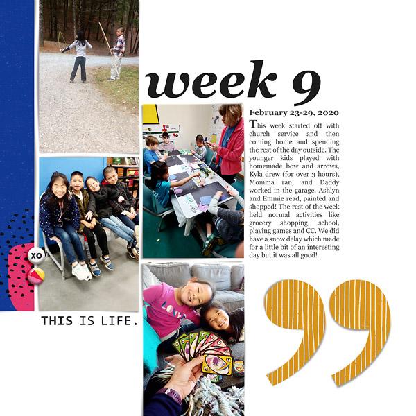 Stories of Life Week 9 {left}