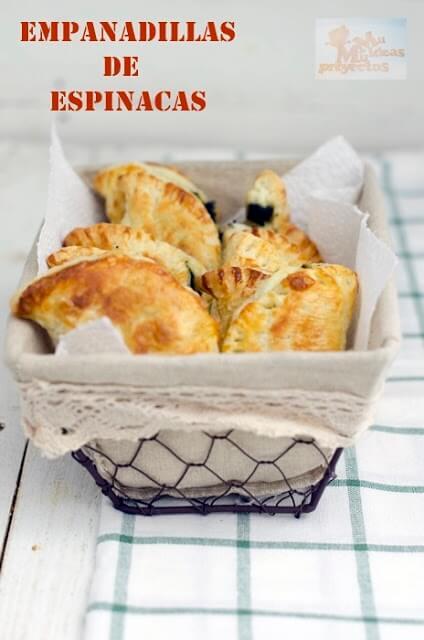receta de empanadillas de hojaldre con espinacas1