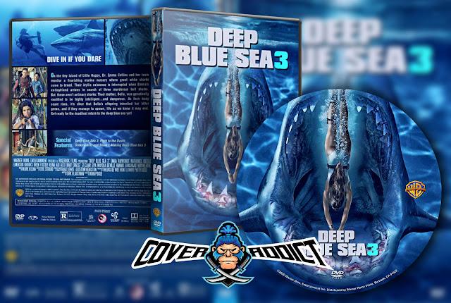 Deep Blue Sea 3 (2020) DVD Cover