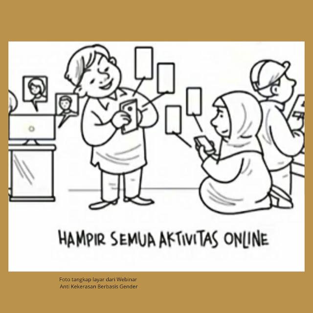 aktivitas online