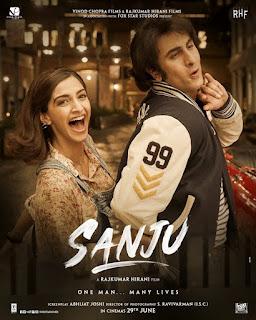 Sanju First Look Poster 5