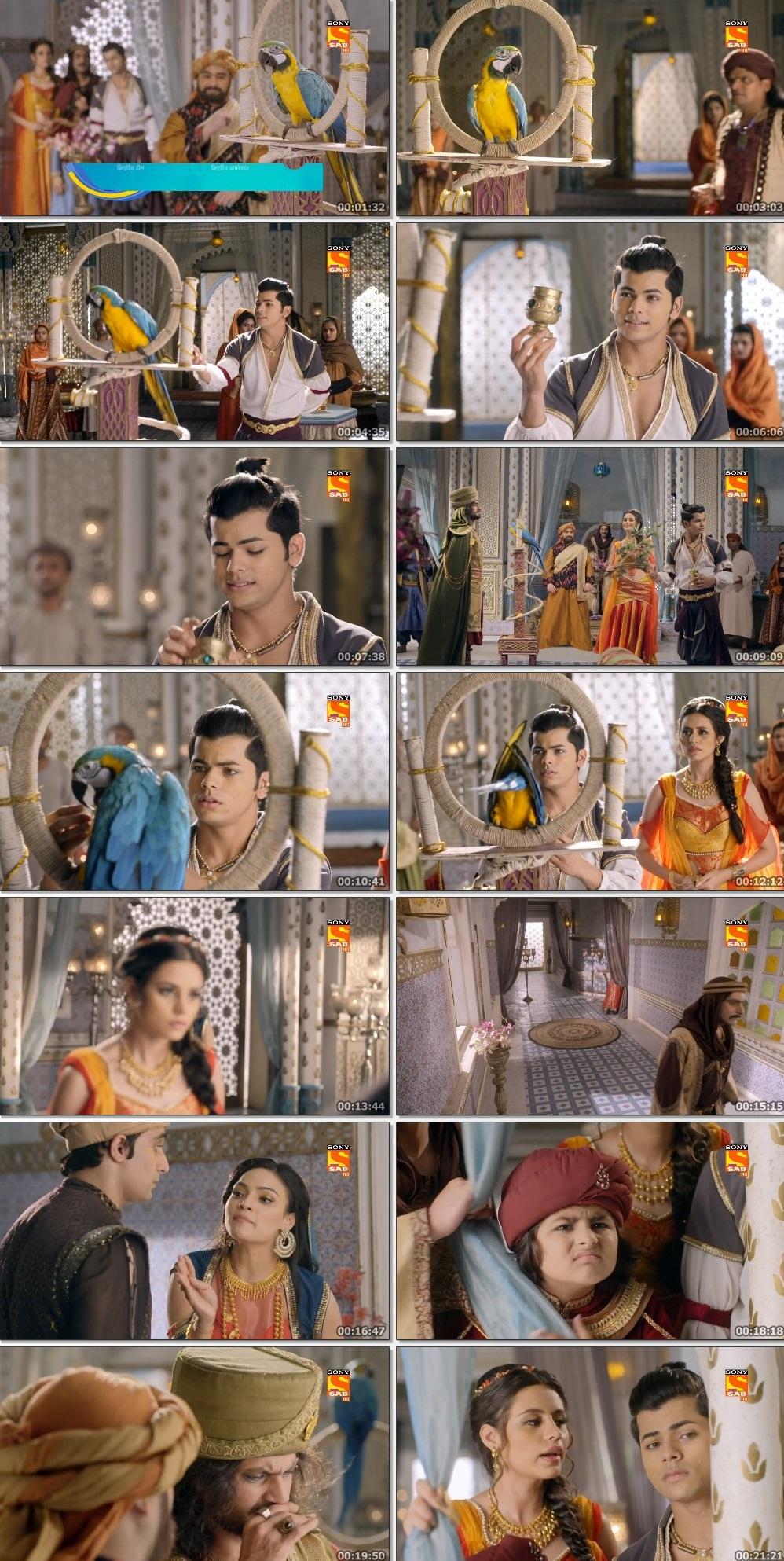 Screenshots Of Hindi Show Aladdin – Naam Toh Suna Hoga 2019 Episode 225 300MB 720P HD