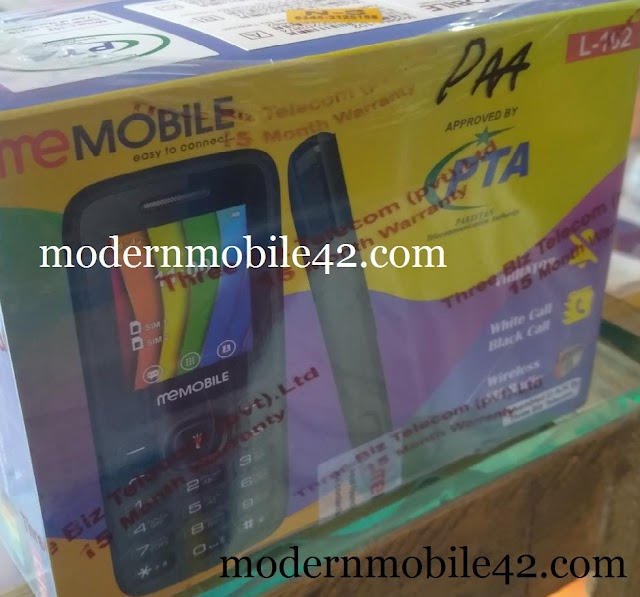 Memobile L102 scr6531e flash File