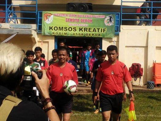 Turnamen Sepakbola Kodim 0508/Depok Makin Meriah