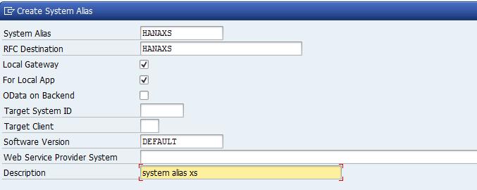 SAP ABAP Central: Register XSOdata servies into SAP Gateway
