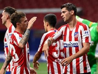 Atletico Madrid Stretch Unbeaten Run To 12 Games with Alvaro Morata Double